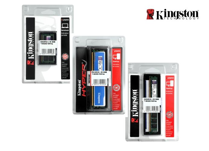 Konfektionierung von Kingston Speichermodulen in kundenindividueller Verpackung